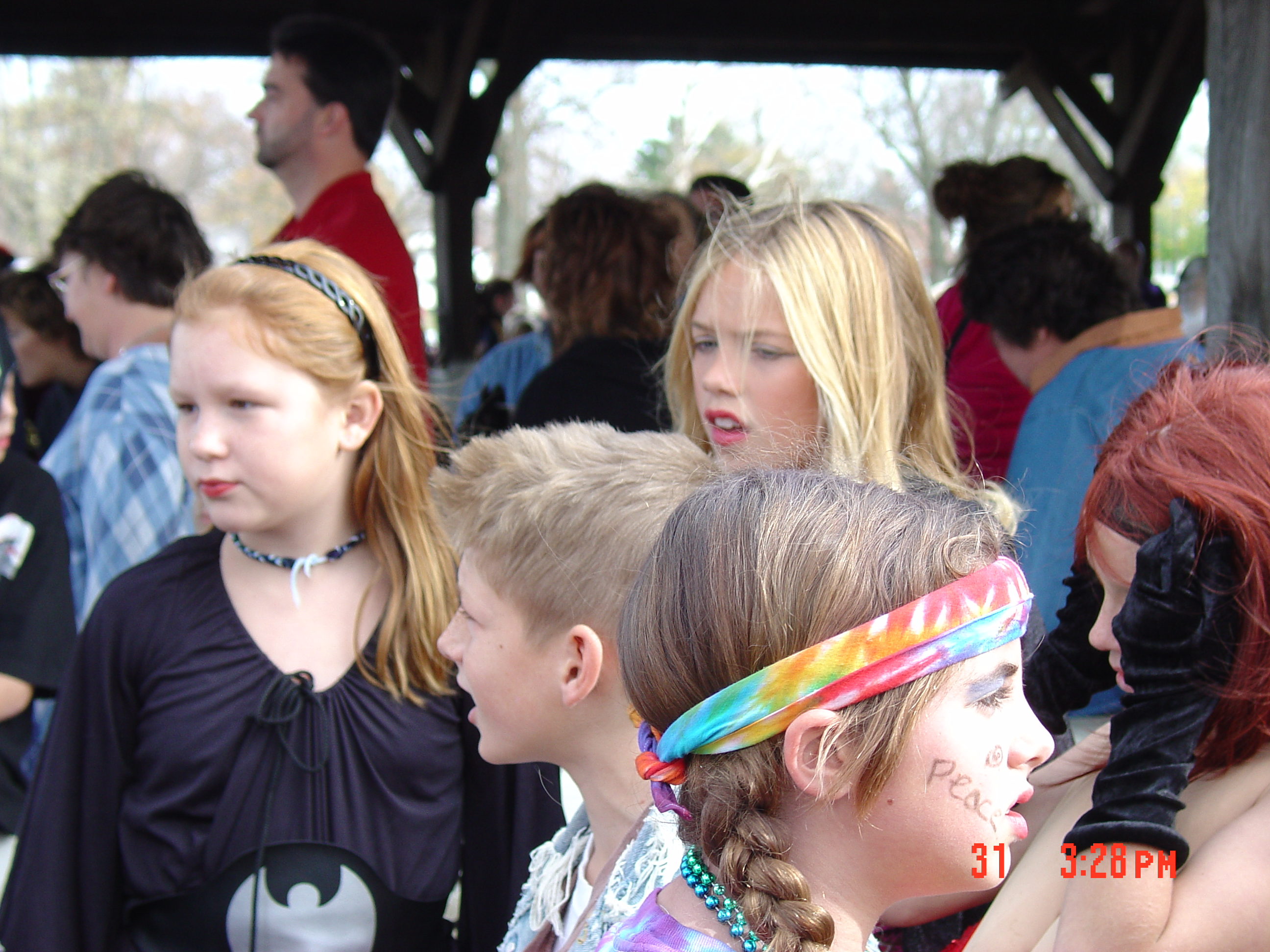trick or treat parade from 2004 04