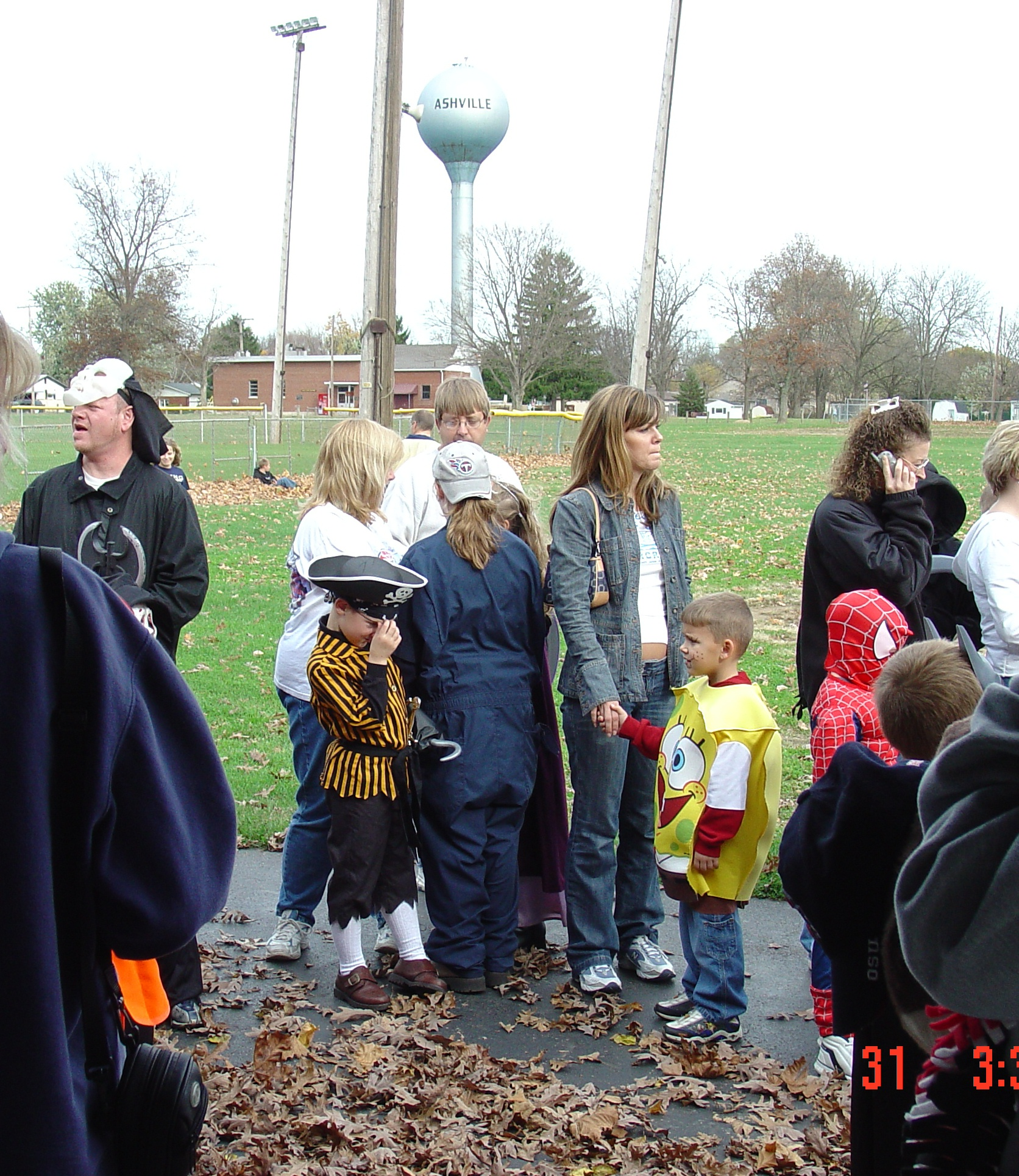 trick or treat parade from 2004 11