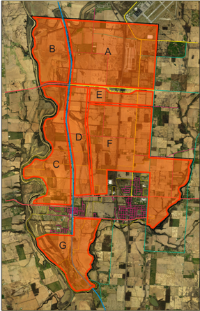 land use plan map